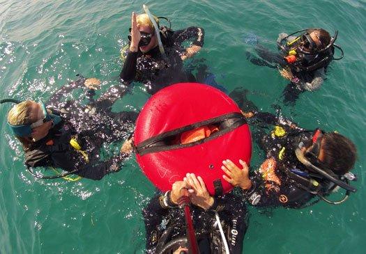 Teaching in Open Water PADI IDC Bali