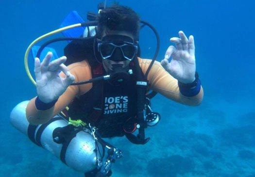 MSDT Sidemount Cursus Open Water Duik