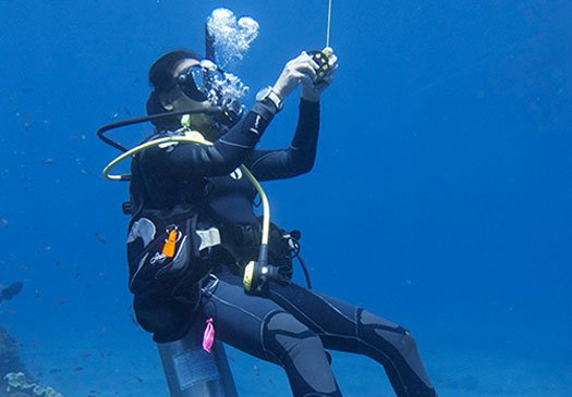 PADI Divemaster Kurs in Bali - Go Pro mit Joe\'s Gone Diving in Bali