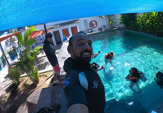 Do your PADI Pro Course on Bali