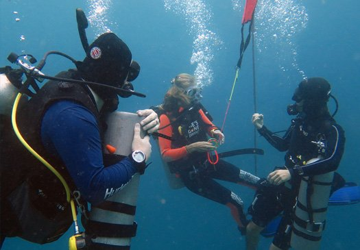Do your PADI deep dive specialty in Bali