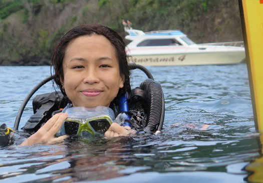 Take your open water referral course with Joe's Gone Diving Bali