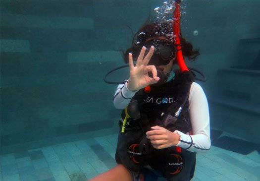 Competitive prices for our PADI dive courses in Bali