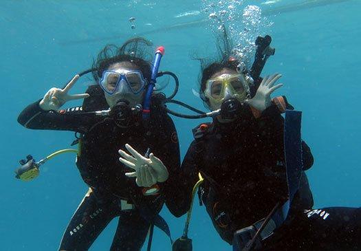 PADI Scuba Diver cursus in Bali Indonesie