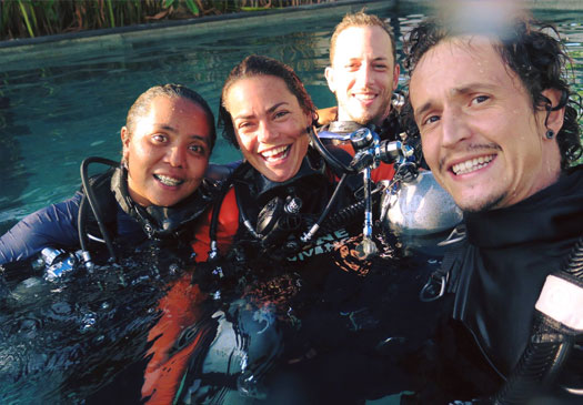 Prices PADI Pro courses on Bali