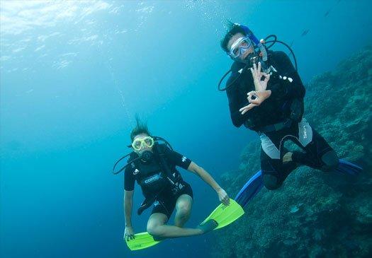 Leer gewichtloos te duiken met de PADI Peak Performance Buoyancy cursus op Bali