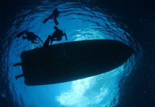 Blue Corner Duikstek Nusa Lembongan Bali