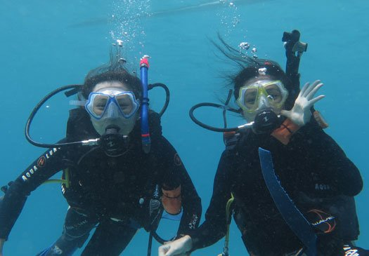 Try diving in Bali Indonesia with our discover scuba diving program