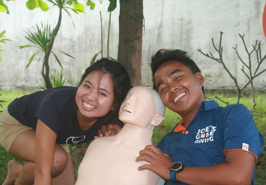 1 day EFR course in Bali