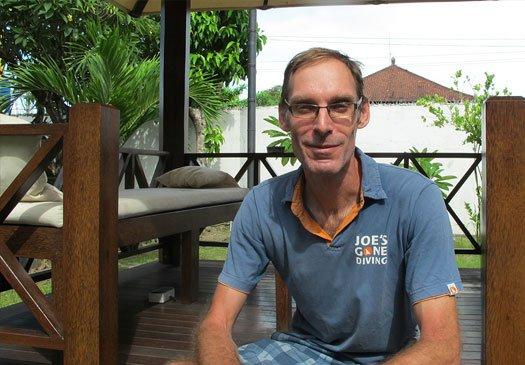 Jan: eigenaar Joe's Gone Diving