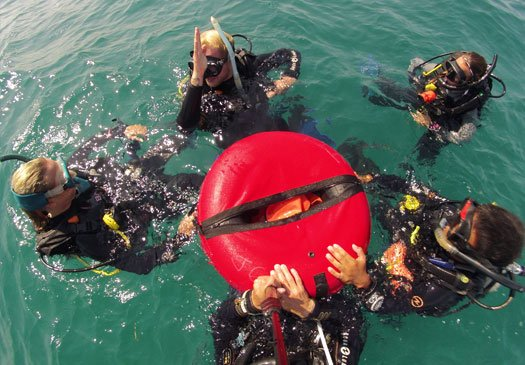 5 PADI specialty package