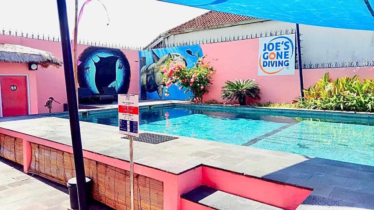 Joesgonediving new facility